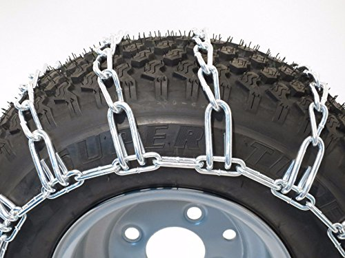 The-ROP-Shop-Pair-2-Link-TIRE-Chains-18x65x8-fits-Many-Can-Am-Quest-Outlander-Renegade-ATV-0-0
