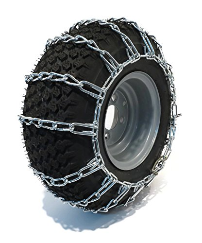 The-ROP-Shop-Pair-2-Link-TIRE-Chains-18x65x8-fits-Many-Can-Am-Quest-Outlander-Renegade-ATV-0-2