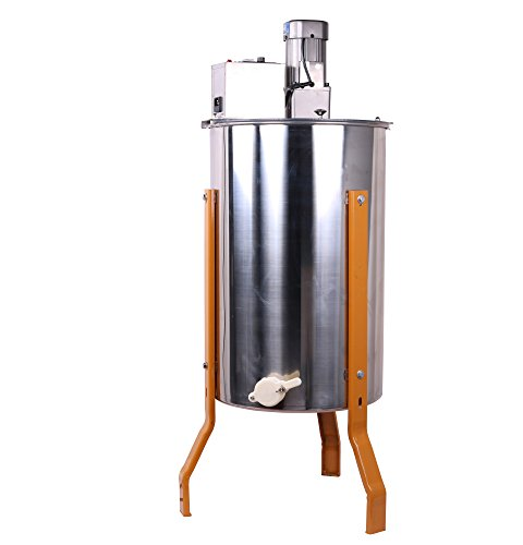 Three-3-FramesFour-4-Frames-Stainless-Steel-Electronic-High-Speed-Bee-Honey-Extractor-Honeycomb-Drum-Beekeeping-0-0