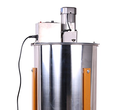 Three-3-FramesFour-4-Frames-Stainless-Steel-Electronic-High-Speed-Bee-Honey-Extractor-Honeycomb-Drum-Beekeeping-0-1