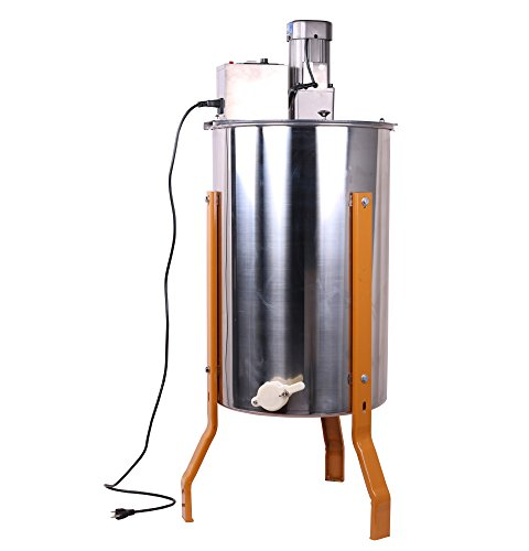 Three-3-FramesFour-4-Frames-Stainless-Steel-Electronic-High-Speed-Bee-Honey-Extractor-Honeycomb-Drum-Beekeeping-0