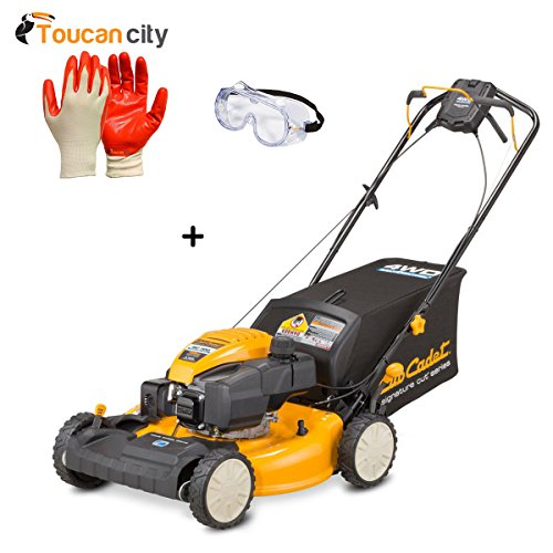 Toucan-City-Nitrile-Dip-Gloves5-Pack-with-Safety-Goggles-and-Cub-Cadet-FastAttach-All-Season-Plow-for-XT-Series-Lawn-Tractors-SC700-0