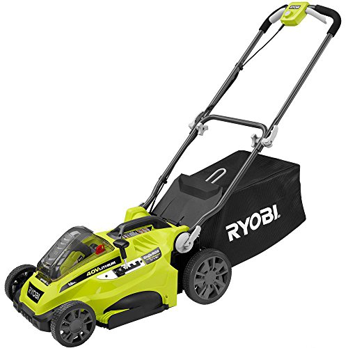 Toucan-City-Ryobi-16-40-Volt-Lithium-Ion-Cordless-Battery-Walk-Behind-Push-Lawn-Mower-with-40-Ah-Battery-and-Charger-Included-RY40140-and-Nitrile-Dip-Gloves5-Pack-0-0
