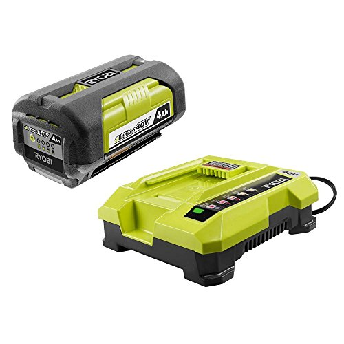 Toucan-City-Ryobi-16-40-Volt-Lithium-Ion-Cordless-Battery-Walk-Behind-Push-Lawn-Mower-with-40-Ah-Battery-and-Charger-Included-RY40140-and-Nitrile-Dip-Gloves5-Pack-0-1