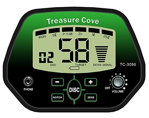 Treasure-Cove-TC-3050-Fast-Action-Digital-Metal-Detector-Kit-Self-Tuning-Metal-Detector-Kit-with-LED-Digital-Display-10-Year-Warranty-0-0