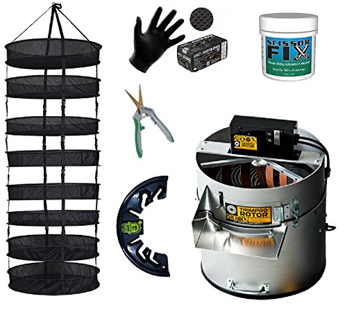 Trimpro-Rotor-Bundle-Rotor-DeBudder-Bucket-Lid-Scissors-Drying-Rack-Scissor-Fix-Gloves-0