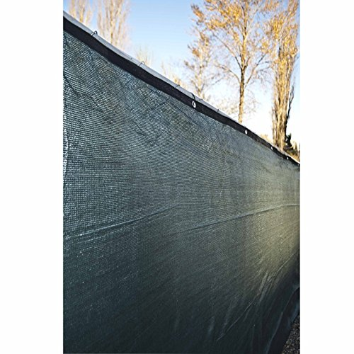 TruePower-Privacy-Fence-Screen-4-Tall-x-50-Long-Green-for-Patio-Deck-Balcony-Backyard-Fence-Apartment-Privacy-0