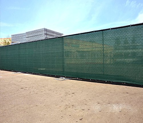 TruePower-Privacy-Fence-Screen-5-Tall-x-50-Long-Green-for-Patio-Deck-Balcony-Backyard-Fence-Apartment-Privacy-0