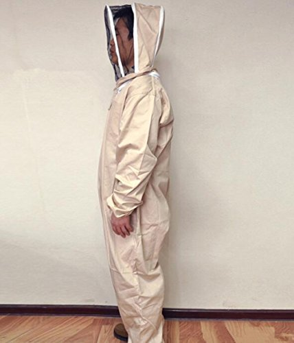 Univegrow-Professional-Beekeeper-Jumpsuit-Suit-Beekeeping-Suit-with-Self-Supporting-Veil-for-Bee-Keepers-0-0