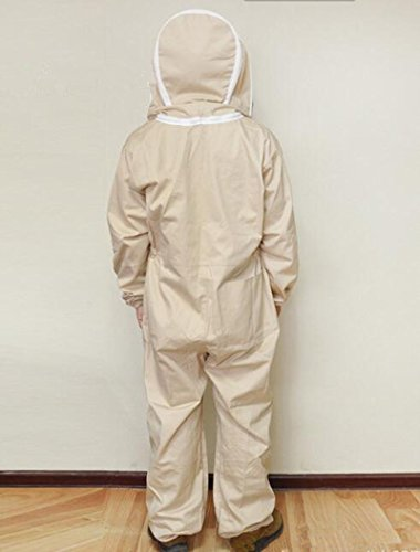 Univegrow-Professional-Beekeeper-Jumpsuit-Suit-Beekeeping-Suit-with-Self-Supporting-Veil-for-Bee-Keepers-0-1