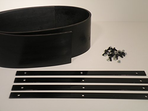 Universal-Heavy-Duty-Rubber-Snow-Deflector-Kit-up-to-8-10-Ft-Straight-Plow-0