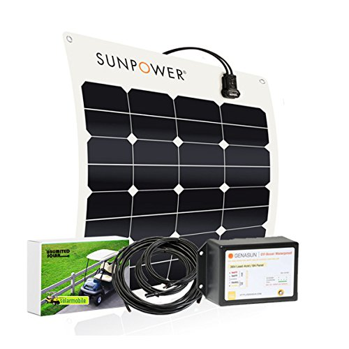 Unlimited-Solar-50-Watt-Golf-Cart-Flexible-Solar-Charging-System-MPPT-for-Lithium-Batteries-0