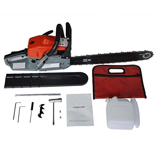 Utheing-Chain-Saw-20-2-Stroke-42HP-Gas-Powered-with-Smart-Start-Super-Air-Filter-System-Automatic-Carburetor-and-Tool-Kit-0-0