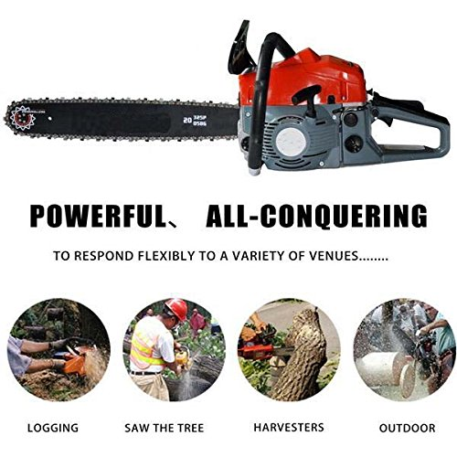 Utheing-Chain-Saw-20-2-Stroke-42HP-Gas-Powered-with-Smart-Start-Super-Air-Filter-System-Automatic-Carburetor-and-Tool-Kit-0-2