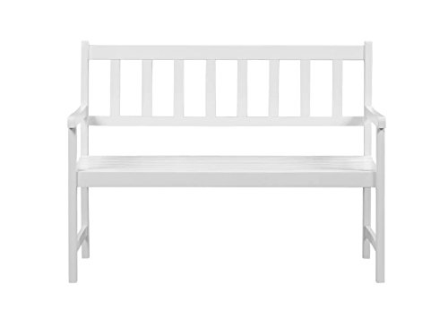 Vida-Outdoor-Patio-Garden-Bench-from-Solid-Acacia-Wood-in-White-Finish-472x228x354-Backyard-Deck-Furniture-0-0