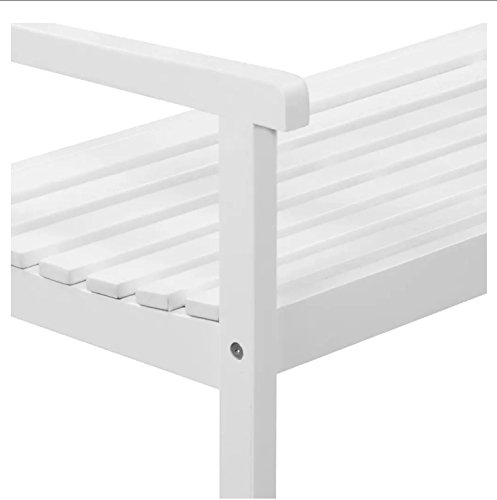 Vida-Outdoor-Patio-Garden-Bench-from-Solid-Acacia-Wood-in-White-Finish-472x228x354-Backyard-Deck-Furniture-0-2