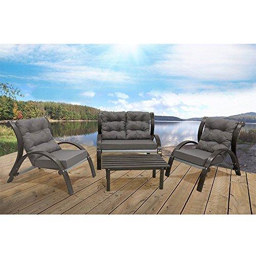 Vivere-Kawartha-Lakes-Four-Piece-Set-Grey-0-1