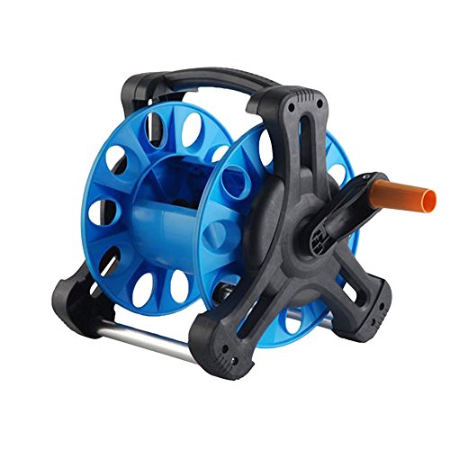 Wall-Mount-Portable-Rotating-Water-Hose-Reel-Cart-with-Bracket-Holder-by-MUITOBOM-0