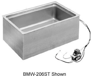 Wells-BMW-206RTD-Bottom-Mount-Electric-Built-In-Food-Warmer-with-Round-Corners-12-x-20-Pan-Opening-with-Drain-0