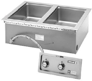 Wells-MOD-200TDM-Food-Warmer-top-mount-built-in-electric-2-12-x-20-openings-0