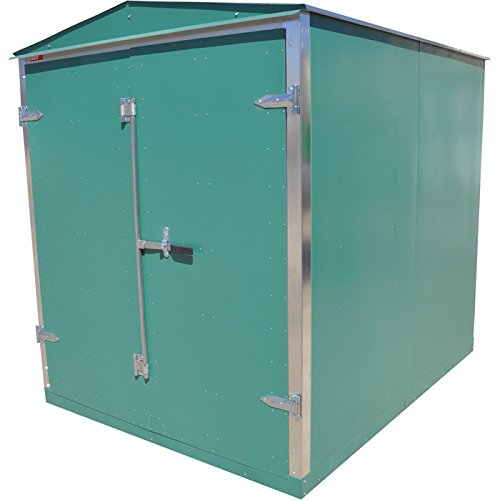 Western-Steel-Heavy-Duty-Secure-Storage-Shed–Green-96-12inL-x-74-12inW-x-88-12inH-0