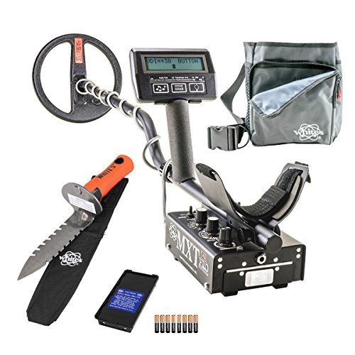 Whites-MXT-All-Pro-Metal-Detector-Diggers-Special-w-DigMaster-Utility-Pouch-0