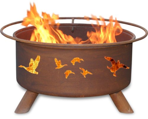 Wild-Duck-Fire-Pit-with-Grill-and-FREE-Cover-0