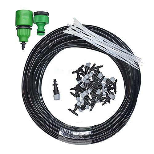 Williant-DIY-32FT-20-Nozzles-Misting-System-Kit-Water-Mister-Air-Misting-Cooling-System-Kit-for-Greenhouse-Lawn-Plant-Garden-Outdoor-Patio-0
