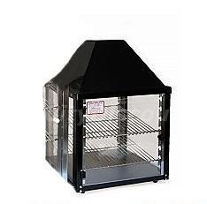 Wisco-690-16-Food-Warming-and-Merchandising-Cabinet-2-Shelf-Black-0