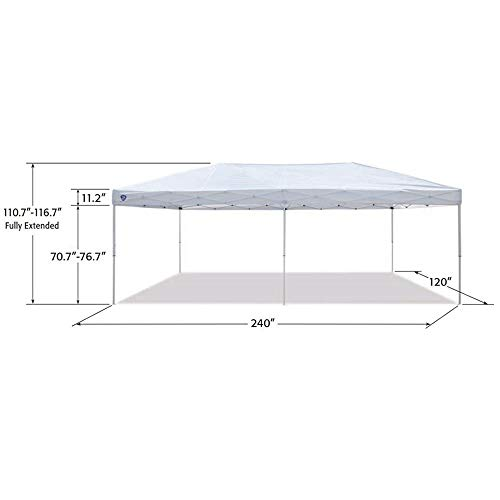 Z-Shade-20-x-10-Foot-Everest-Instant-Canopy-Camping-Outdoor-Patio-Shelter-White-0-1