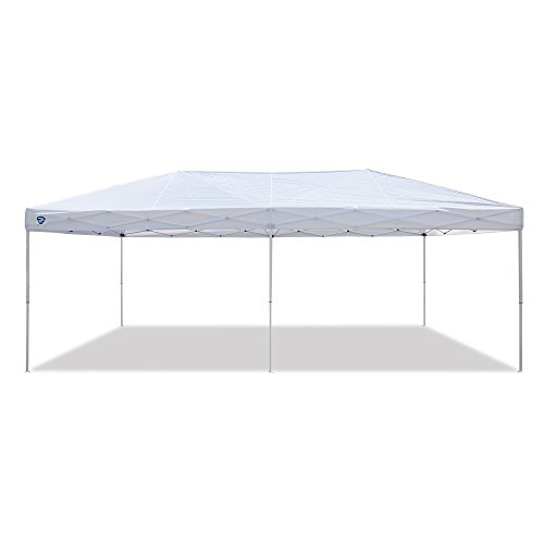 Z-Shade-20-x-10-Foot-Everest-Instant-Canopy-Camping-Outdoor-Patio-Shelter-White-0