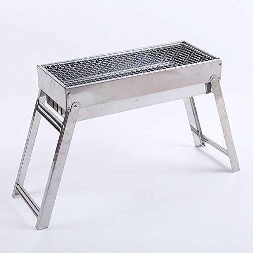 ZZ-aini-Folding-Charcoal-Grills-Portable-Smokers-Camping-BBQ-Picnicking-Barbecue-Griddles-0