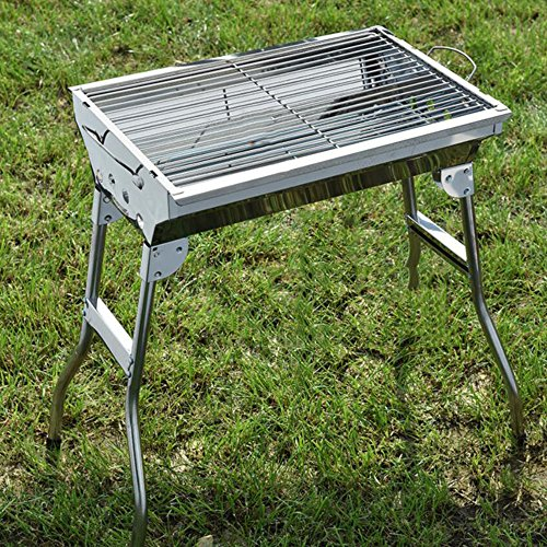 ZZ-aini-Portable-Charcoal-Grills-Stainless-Steel-BBQ-Outdoor-Barbecue-Smokers-Picnicking-Camping-0