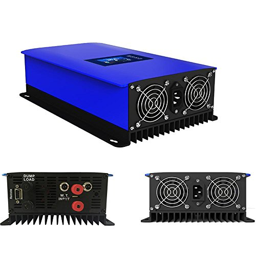iMeshbean-1000W-MPPT-Wind-Grid-Tie-Power-Inverter-Home-Power-Generator-System-DC-22-60V-to-AC-110V-Pure-Sine-Wave-with-Dump-LoadBuilt-in-Limiter-WIFI-APP-Control-Port-USA-0