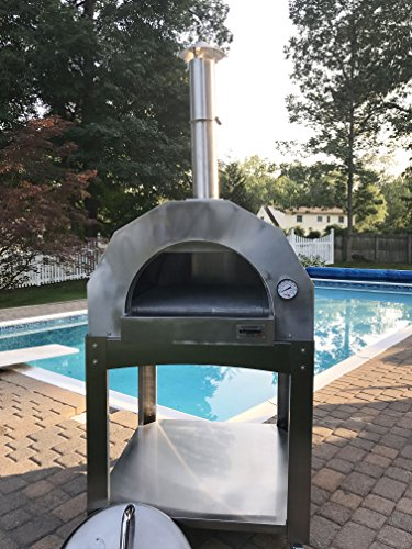 ilFornino-Platinum-Series-Stainless-Steel-Wood-Fired-Pizza-Oven-0-2
