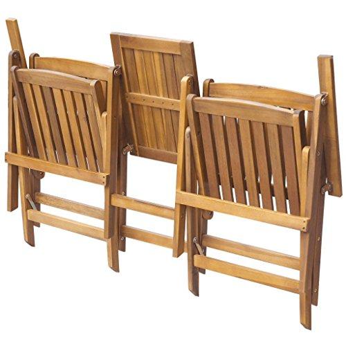 vidaXL-Patio-Solid-Acacia-Wooden-Folding-Bench-Table-Garden-Balcony-2-Seats-0-1
