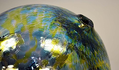 10-Inch-Glass-Garden-Gazing-Ball-Aqua-Lime-Spots-color-0-1