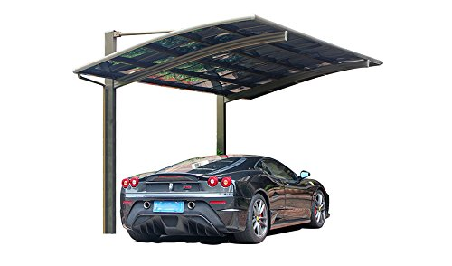 10-x-20-Feet-Metal-Carports-Canopies-Garage-Tent-Shelter-Gazebo-Aluminum-With-Gutter-And-Polycarbonate-Panels-Metal-RV-Carport-for-Car-Yacht-And-CopterDiagonal-Style-0-0