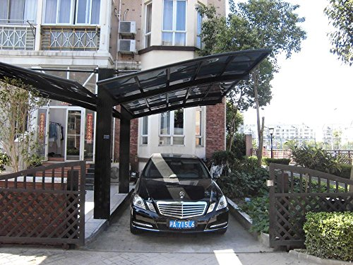 10-x-20-Feet-Metal-Carports-Canopies-Garage-Tent-Shelter-Gazebo-Aluminum-With-Gutter-And-Polycarbonate-Panels-Metal-RV-Carport-for-Car-Yacht-And-CopterDiagonal-Style-0-1