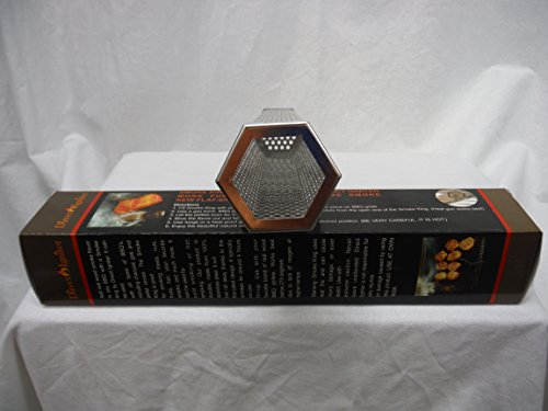 12-HEXAGON-WOOD-PELLET-SMOKE-TUBE-HOT-OR-COLD-SMOKE-WORKS-WITH-ALL-BBQS-USA-0-1