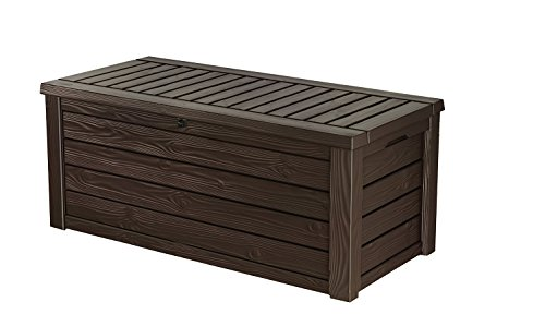 150-Gallon-Outdoor-Deck-Box-Patio-Storage-Bench-Stylish-Natural-Wood-Paneled-Finish-and-Texture-Made-out-of-Durable-and-Weather-Resistant-Polypropylene-Resin-Automatic-Easy-Opening-Mechanism-0