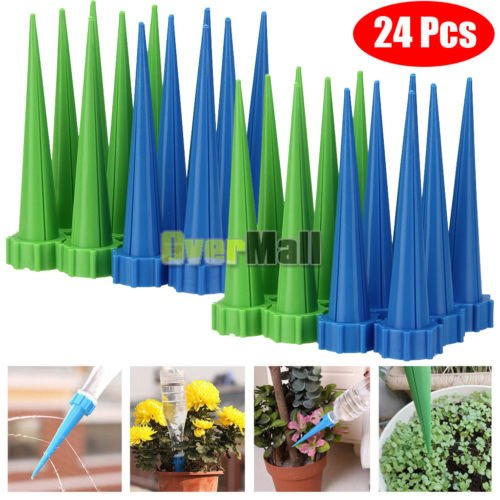 24x-Automatic-Garden-Cone-Watering-Spike-Plant-Flower-Waterers-Bottle-Irrigation-0