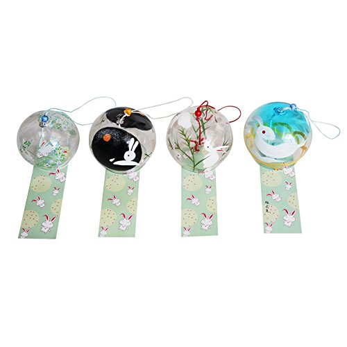 4-piece-Handmade-Japanese-Edo-Furin-Wind-Chimes-Suncatcher-Home-Living-Decor-Birthday-Gift-Fathers-Day-Christmas-Gift-Rabbit-0