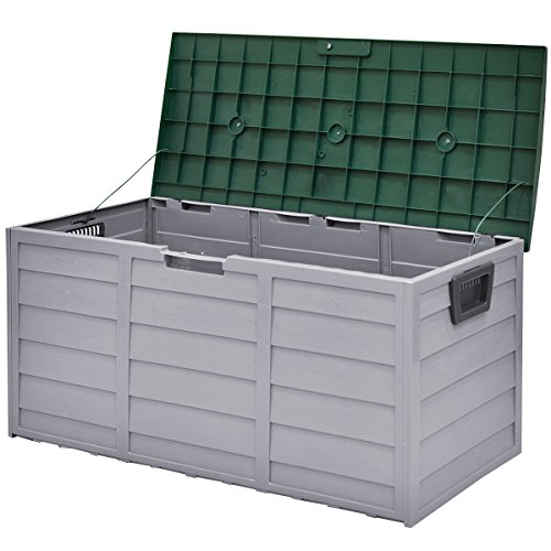 44-Deck-Storage-Box-Outdoor-Patio-Garage-Shed-Tool-Bench-Container-70-Gallon-0-2