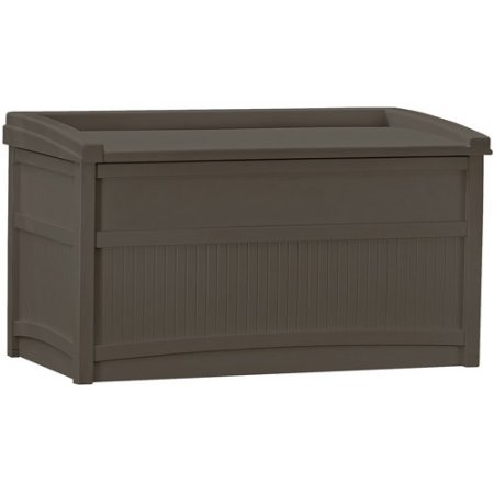 50-Gallon-Java-Resin-Storage-Seat-Deck-Box-Made-of-Durable-Weather-Resistant-Resin-Overlapping-Lid-Prevents-Water-From-Entering-Fade-Dent-Chip-Peel-Resistant-Handles-Wheels-for-Portability-0