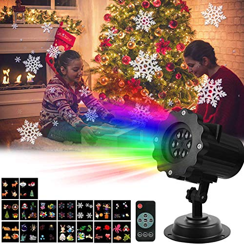 AMILE-Halloween-Christmas-Projector-Lights-Rotating-LED-Landscape-Lights-with-16PCS-Switchable-Lens-for-Easter-Birthday-Wedding-PartyChristmas-Halloween-Outdoor-and-Indoor-0-0