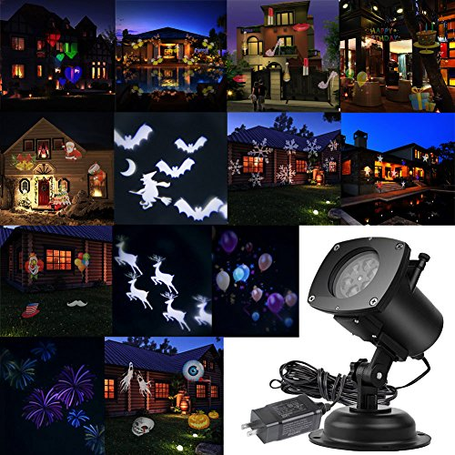 AcTopp-Christmas-Projector-Lights-Outdoor-Holiday-Light-Projector-with-121-Switchable-Pattern-Lens-Led-Landscape-Spotlight-Valentines-Day-Motion-Lamp-Lights-for-Garden-Home-Decoration-Birthday-0