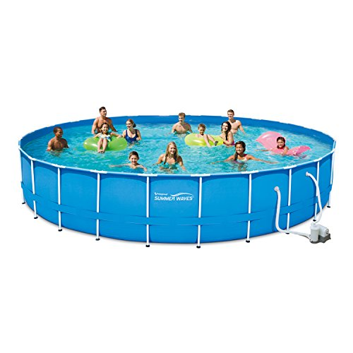 Adams-Pack-Above-Ground-Swimming-Pool-24-x-52-Metal-Frame-with-Filter-Pump-Cover-Ladder-Ground-cloth-and-Maintenance-Kit-0-0