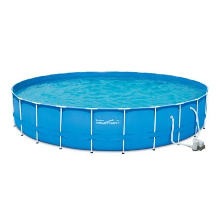 Adams-Pack-Above-Ground-Swimming-Pool-24-x-52-Metal-Frame-with-Filter-Pump-Cover-Ladder-Ground-cloth-and-Maintenance-Kit-0