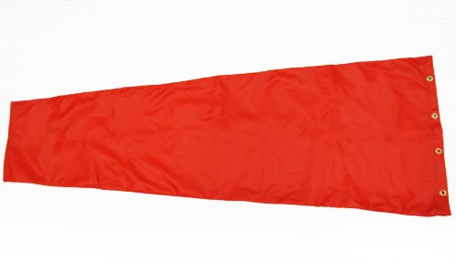 Airport-Windsock-Corporation-13×54-Orange-Replacement-Windsock-100-USA-Made-0